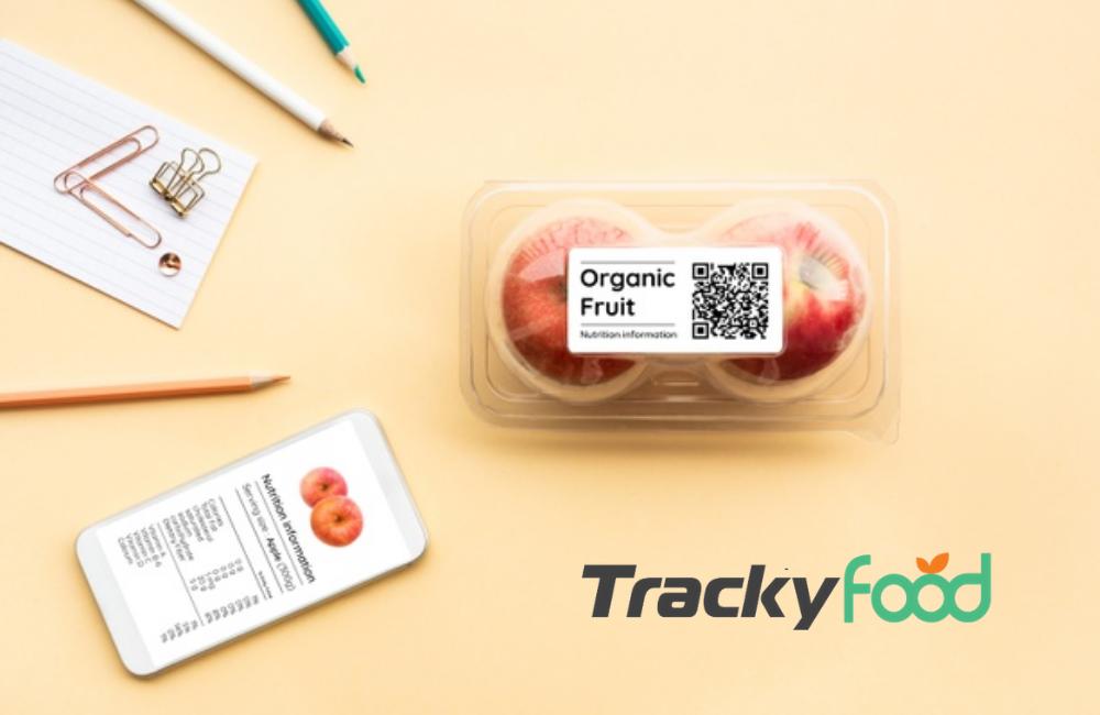 qr code dinamico su prodotto alimentare